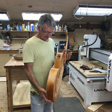 Giving a new arch-top a once-over