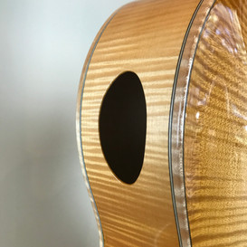 Upper bought sound hole
