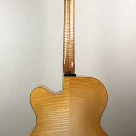 Curly Maple back