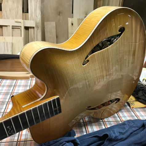 All maple Arch Top