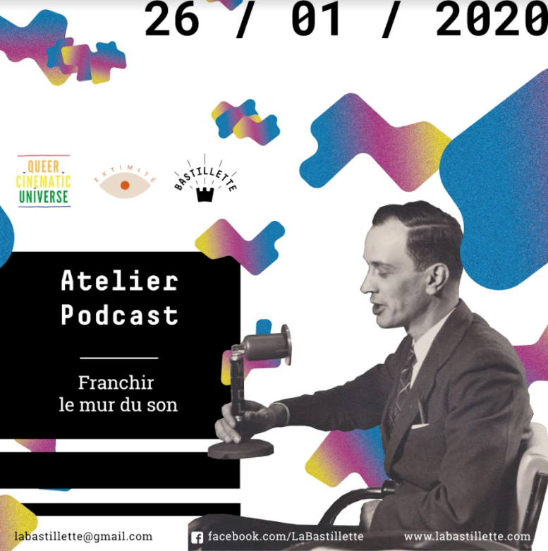 """""""Franchir le mur du son"""" – atelier podcast – 26/01/2020"""