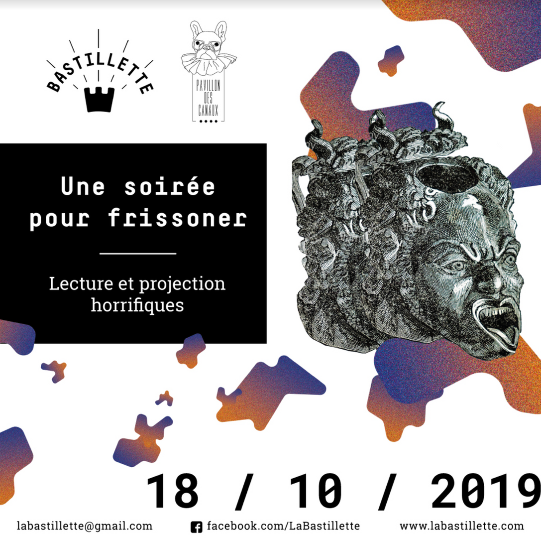 """""""Une soirée pour frissonner"""" - lecture & projection - 18/10/2019"""