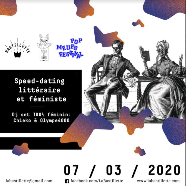 """""""Adopte un livre"""" - speed dating littéraire + DJ set - 07/03/2020"""