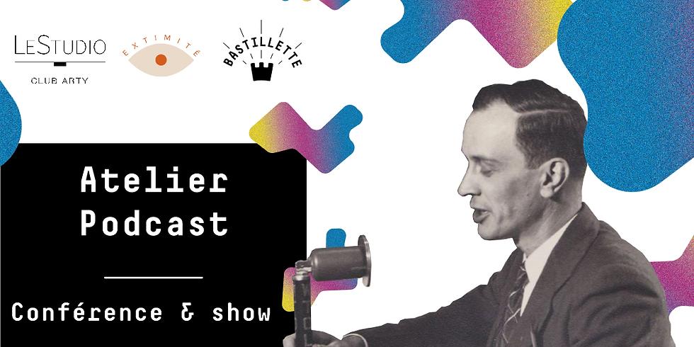 """Atelier podcast   Conférence """"Les femmes en drag"""" & show"""