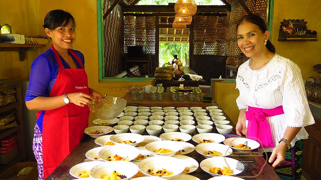 North Bali traditional food collaborations by Pengalaman Rasa Patty Elliott