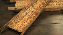 Traditional Rattan-Spikes Graters
