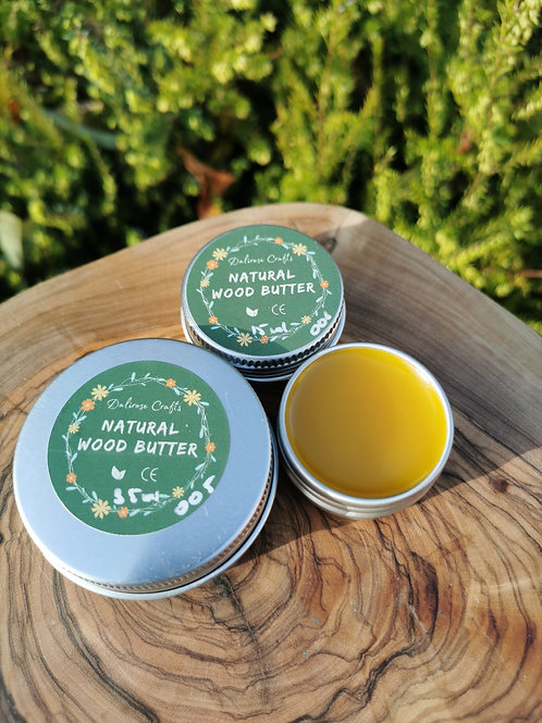 Natural Wood Butter (Certified)