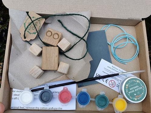 The Ultimate DIY Bundle (sycamore or oak block bot)