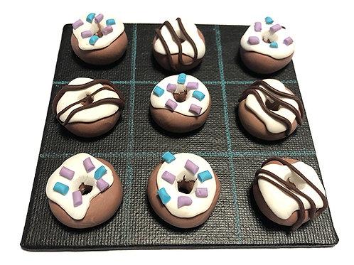 Jeu de Morpion Donuts