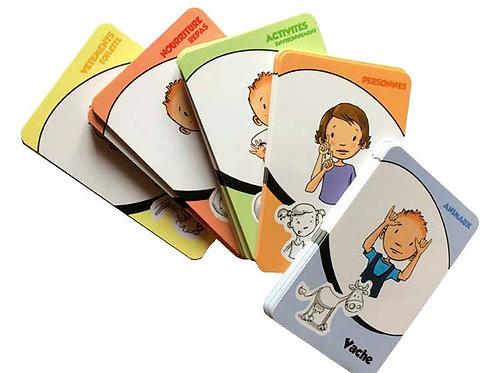 Jeu de cartes Premiers-Signes - Paquet 1