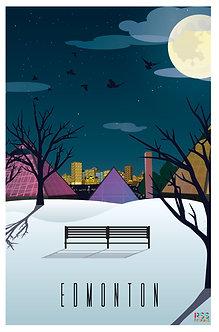 EDMONTON - Muttart in winter