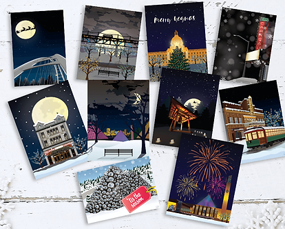 Yegmas Holiday 10 Card Pack