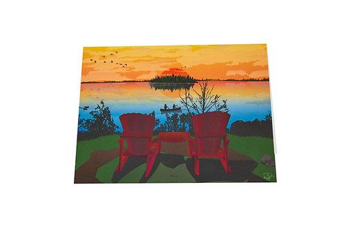 Elk Island card