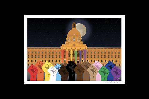 Postcard - 4x6 - Alberta Equality