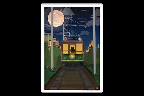 Postcard - 4x6 - Trolly Love