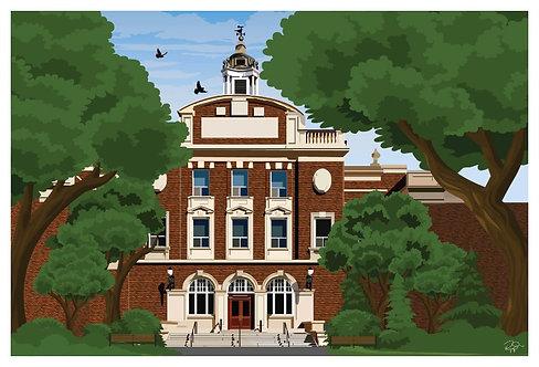 Postcard - 4x6 - U of A - Med/Dent Building