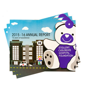 Annual report & integrated marketing