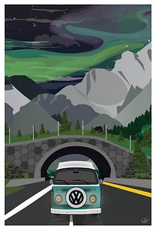 Postcard - 4x6 - Mountain 4