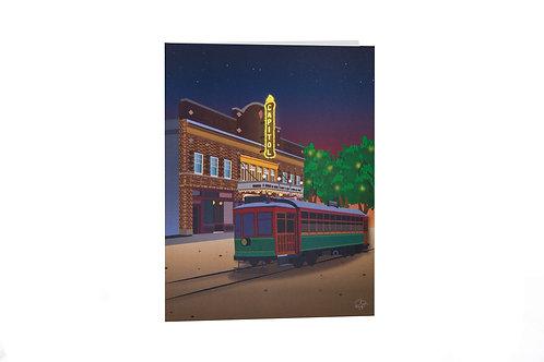 Capitol Theatre card