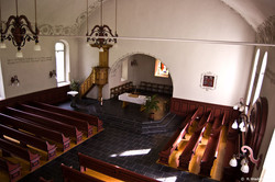 Betschwanden Church Interior