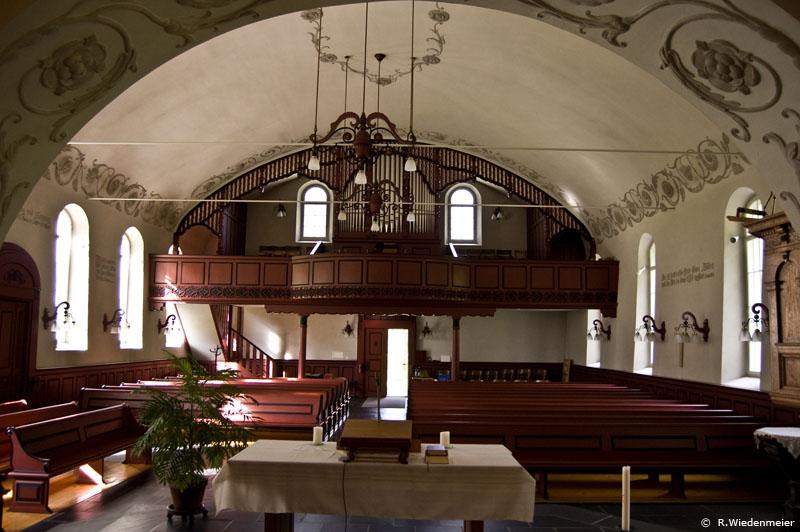 Betschwanden Church Pipe Organ