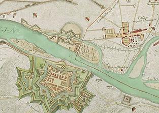 Belagerung_Brueckenkopf_Festung_Hueninge