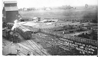Beresford Rail Road Depot Early 1900's