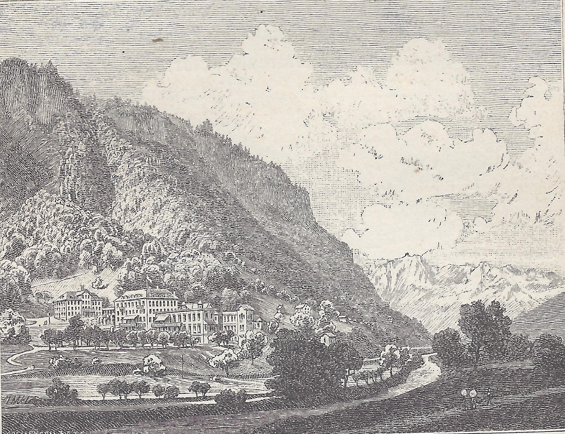 Bad Stachelberg about 1880