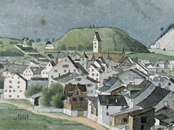 Glarus View to the Gallows 1830
