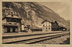 Netstal Bahnhof 1923