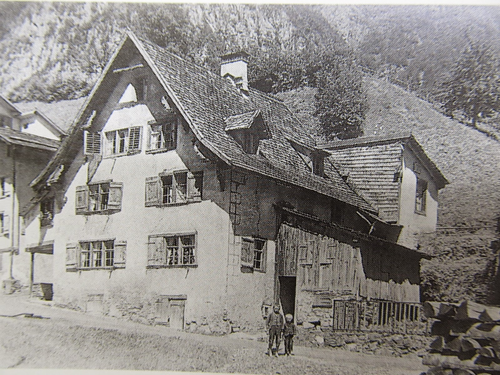 Suworow House in Riedern 1920