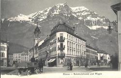 Glarus Bahnhofstrasse with Retail shop 1