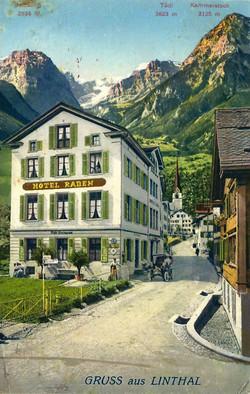 Linthal Hotel Raben
