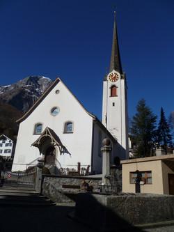 Church of Mitlödi (Front)
