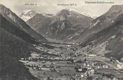 Betschwanden Diesbach about 1910