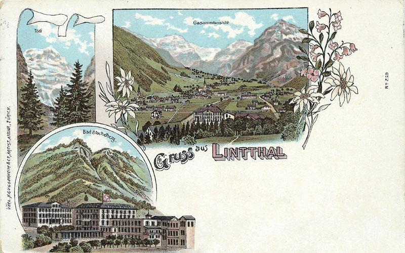 Linthal Postcard 1902
