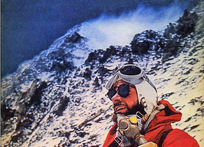 Swiss mountaineer Fritz Luchsinger made the first ascent of Lhotse