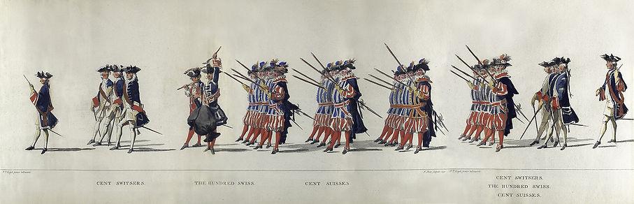 Schweizer Garde der Generalstaaten 1752.