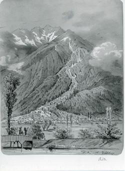 Landslide in Bilten 1868