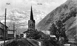 Matt um 1909