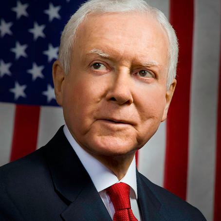 Senator Orrin G. Hatch aus Utah ist in der Tat ein US Glarner