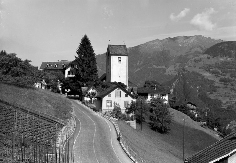 Obstalden Church about 1970
