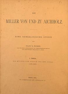 Wöber_Miller von und zu Aichholz_Titel.j