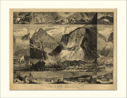 Landslide of Elm 1881