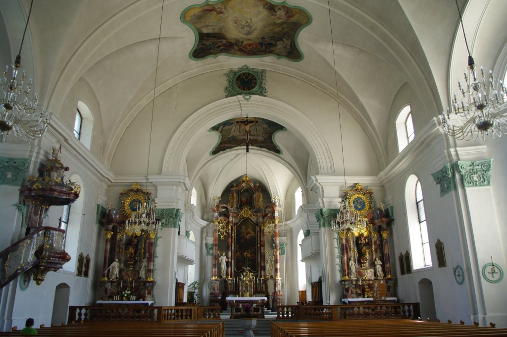 Näfels_Church_St._Hilarius_Interior