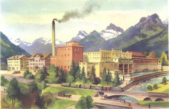Schwanden Brauerei Adler 1900 Kopie