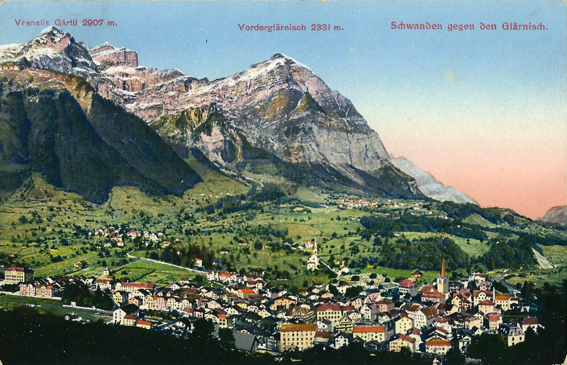 Schwanden about 1910