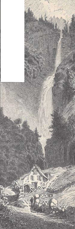 Diesbachfall Weber 1880