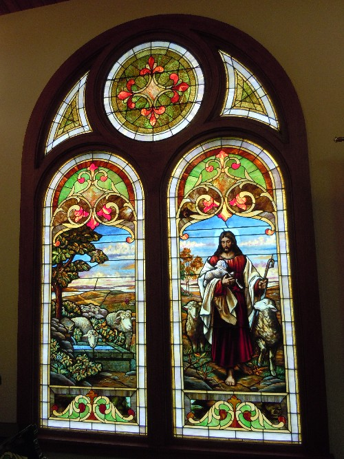 Zion Stained Glass Window