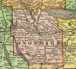 Onondaga Map